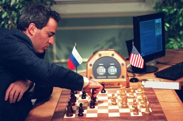 Kasparov contra la Deep Blue
