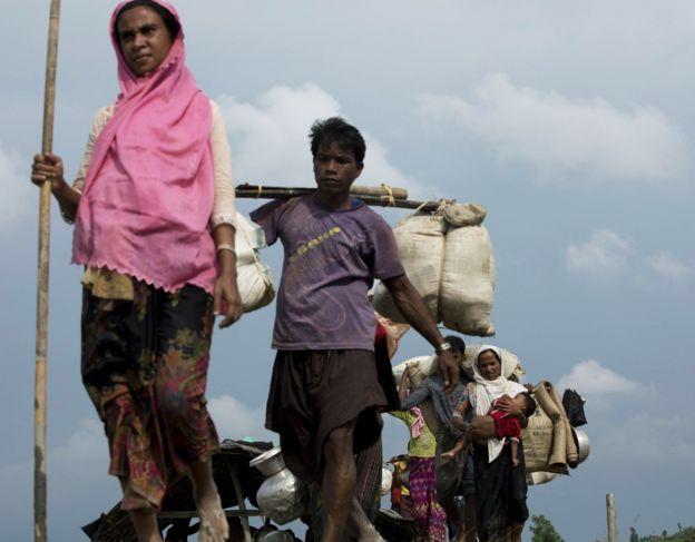 Беженцы-рохинджа