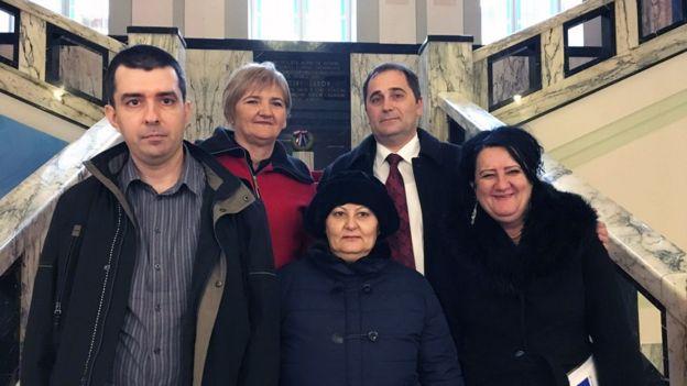 Grupo que habló en el parlamento