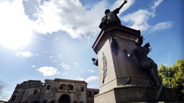 Monumento a Colón en Santo Domingo