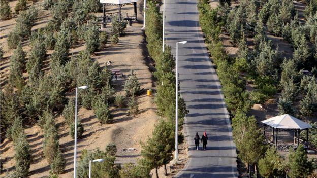 Parque en Teherán