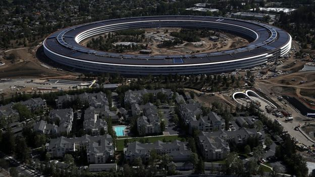 Sede de Apple en Cupertino, California