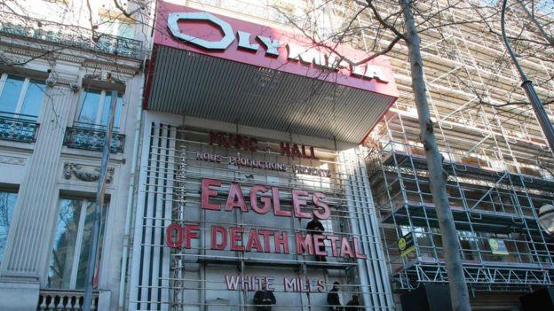Olympia Theatre in Paris