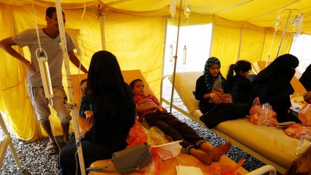 Yemen cholera cases pass 300,000 as outbreak spirals – ICRC