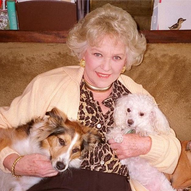 Katie Boyle at Battersea Dog's Home
