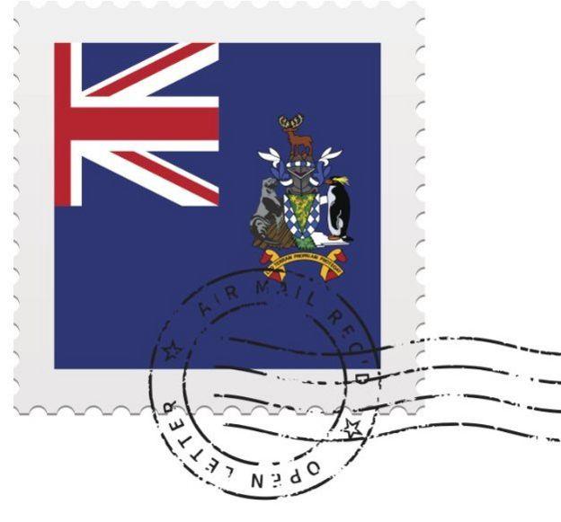 Существуют даже почтовые марки Южной Георгии
