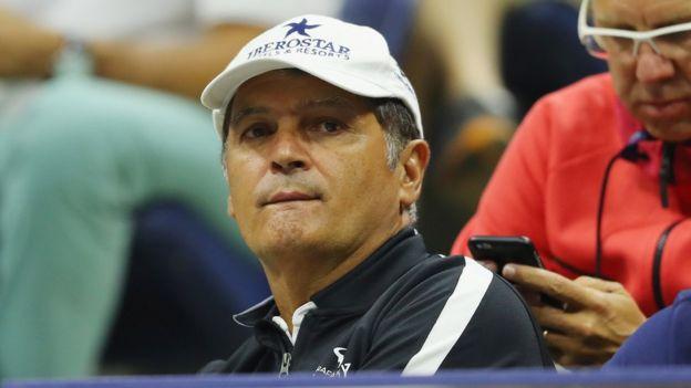 Tío Toni, entrenador de Rafael Nadal