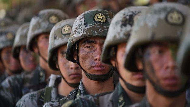 چینی فوجی