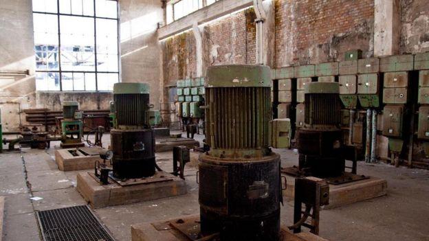Fábrica abandonada em Peenemunde