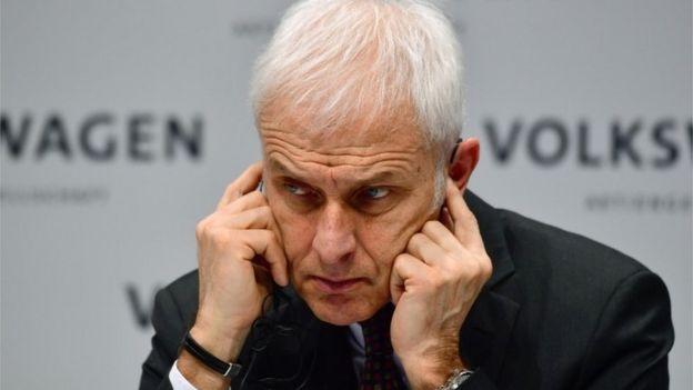 Meet Volkswagen group's CEO Herbert Diess