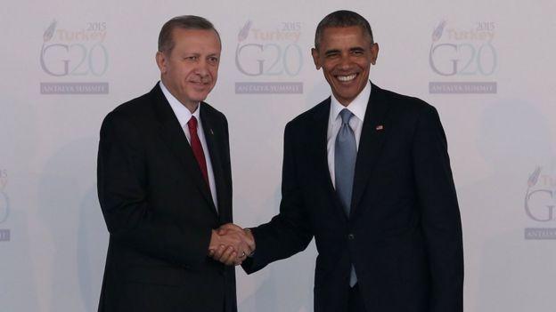 Obama ve Erdoğan