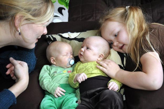 Familia en Helsinki