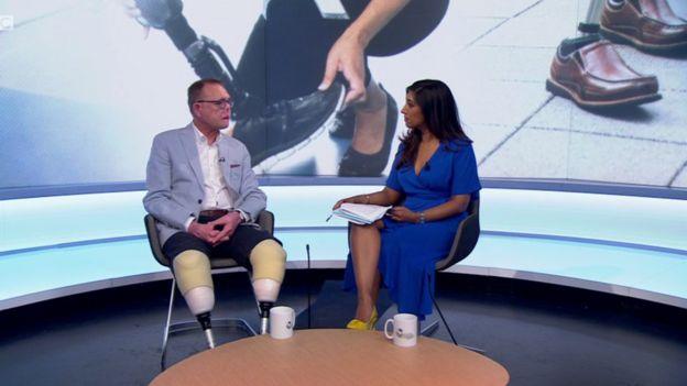 Jako Nel hablando en el programa Victoria Derbyshire de la BBC.