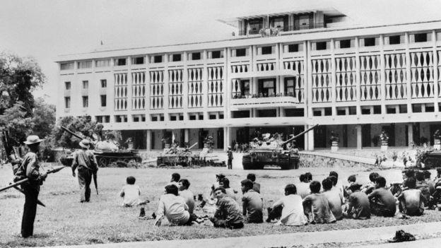 Dinh Độc Lập trong ảnh chụp ngày 3/05/1975