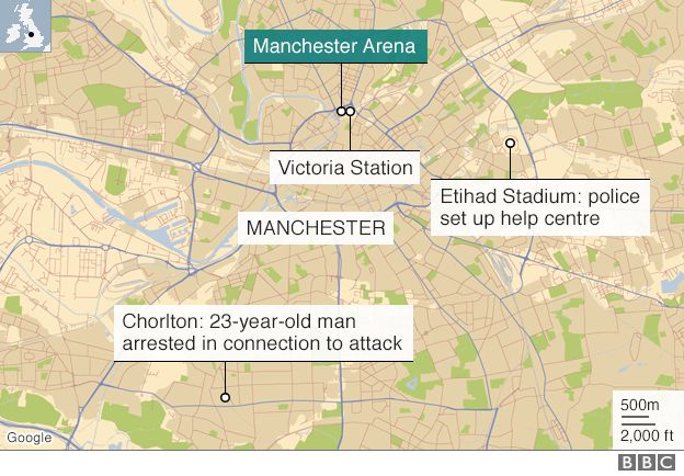 Manchester Attack 22 Dead And 59 Hurt In Suicide Bombing