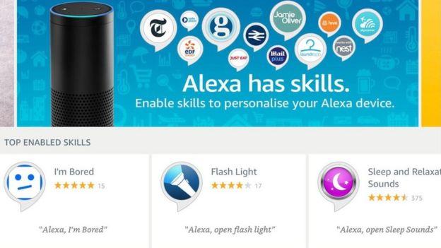 Amazon Skills