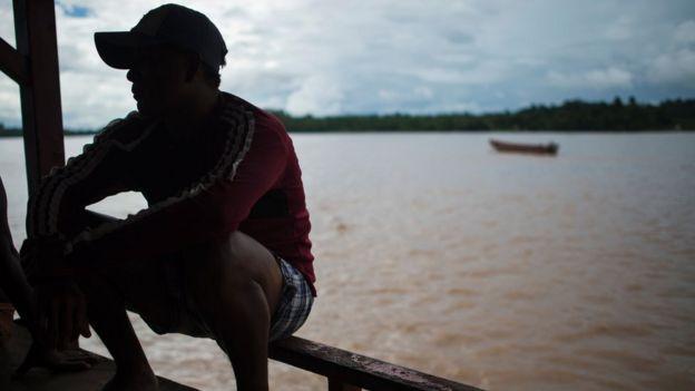 Hombre en Guyana