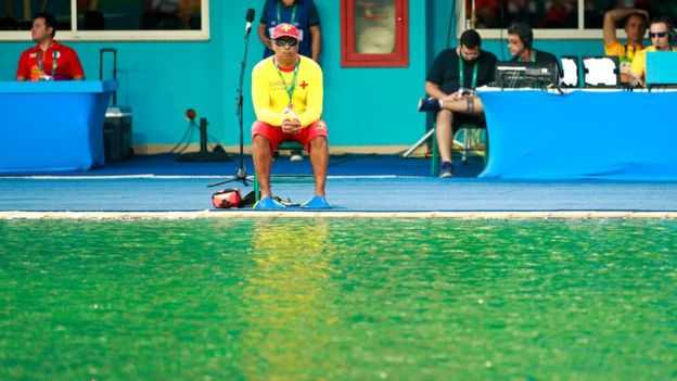 Lifeguard at the Rio Olympics