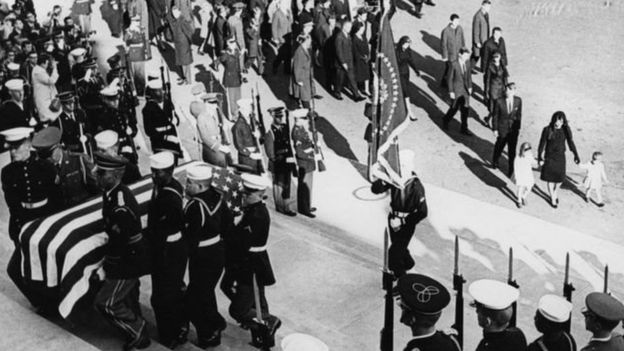 مراسم تشییع جنازه جان اف کندی