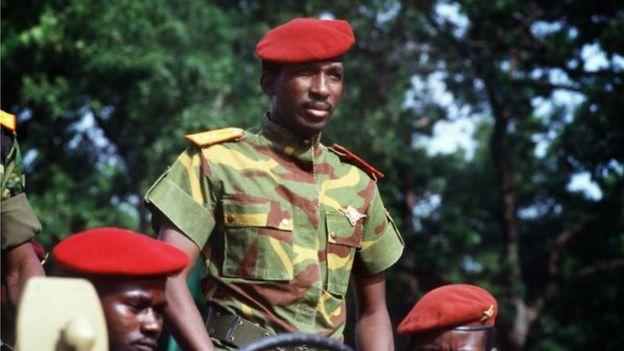 Le Capitaine Sankara était un passioné de musique