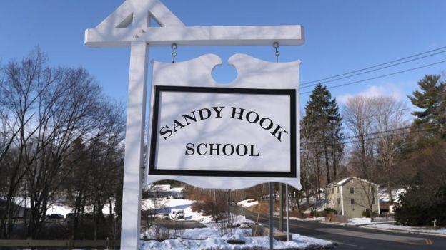 Escuela de Sandy Hook, en Newtown, Connecticut