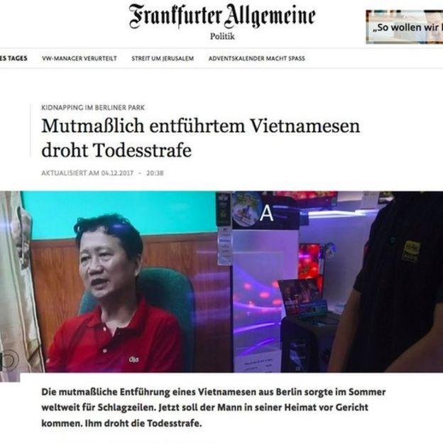 Trantfurter Allgemeine