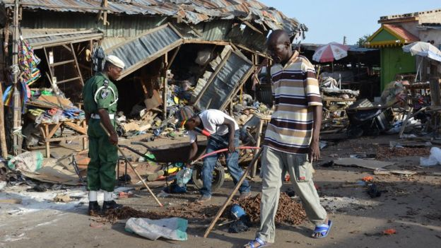 Nigeria's Maiduguri continues to be the epicentre of the insurgency