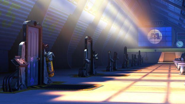 Puertas de Monsters Inc (Imagen: Pixar)