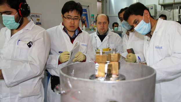 Инспекторы МАГАТЭ в Иране