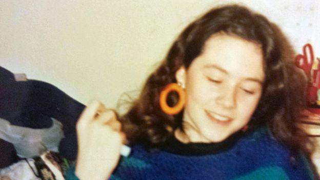 Sarah Thomas, aged about 14