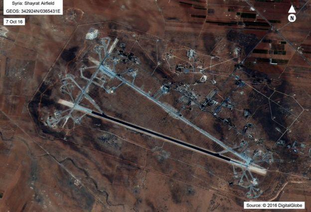 敘利亞霍姆斯附近的謝拉特空軍基地