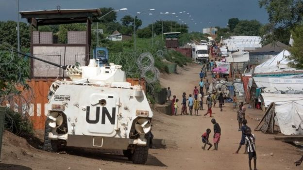 UN base in Juba