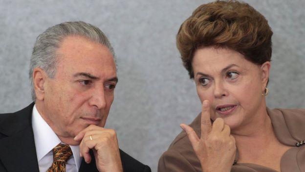 Temer y Rousseff