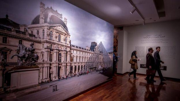 نمایشگاه موزه لوور در تهران امروز دوشنبه ۱۴ اسفند افتتاح میشود