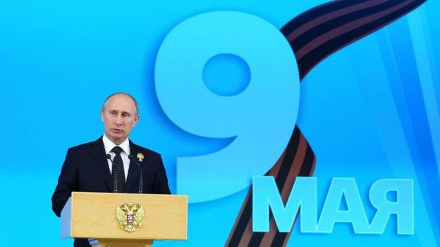 9 may Qələbə Günü - prezident Putin