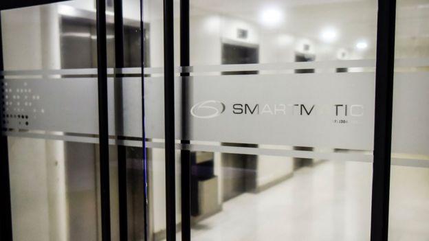 La sede de Smartmatic en Caracas