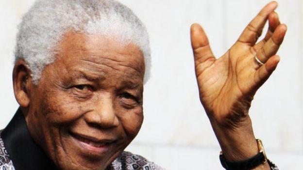 Le président Nelson Mandela durant les derniers années de sa vie