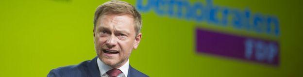 Лидер Свободных демократов Кристиан Линднер
