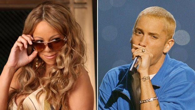 Mariah Carey y Eminem