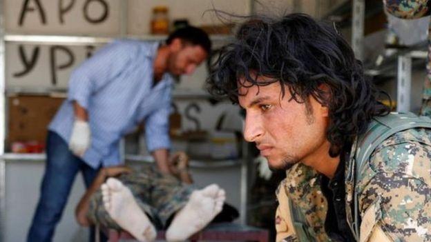 Raqqada döyüşçü