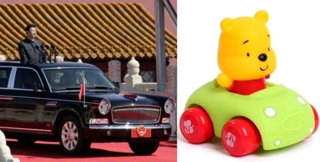 Xi Jinping y Winnie the Pooh