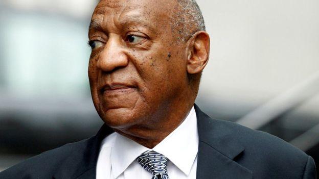O comediante Bill Cosby