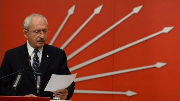 CHP Genel Başkanı Kemal Kılıçdaroğlu,