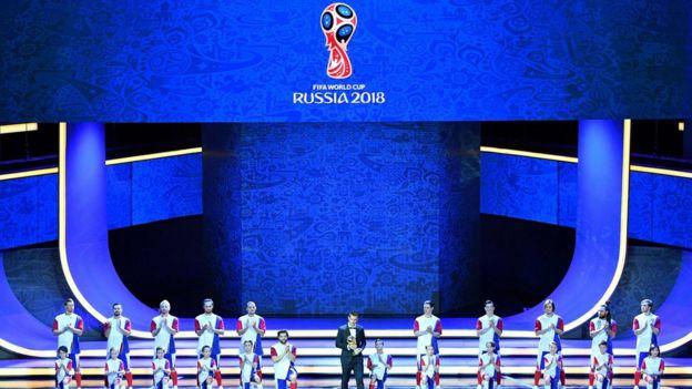 sorteio da Copa da Rússia