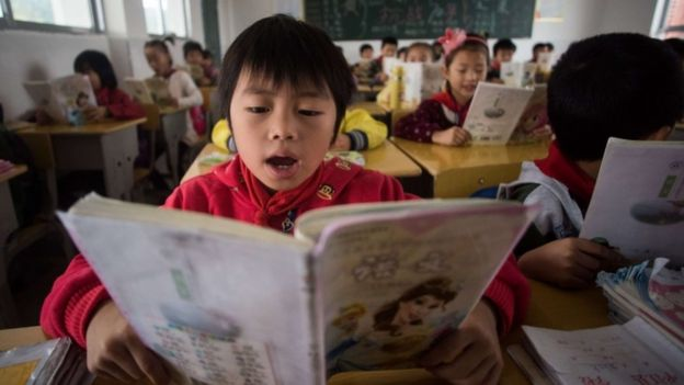 Chinese pupils