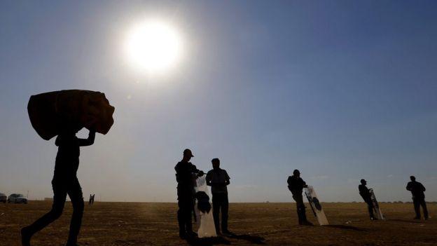 بیش از نیمی از مردم سوریه در پی جنگ داخلی این کشور آواره شدهاند