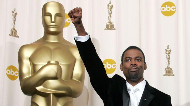 Chris Rock at the 2005 Academy Awards