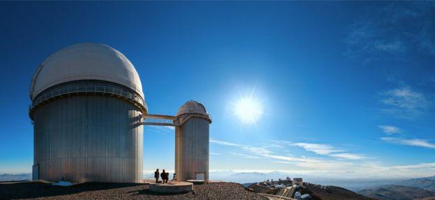 El Observatorio de La Silla en Chile Foto: Eso / B. Tafreshi