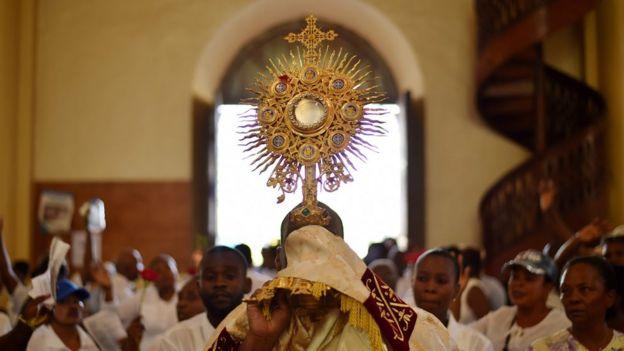 Missa católica na França