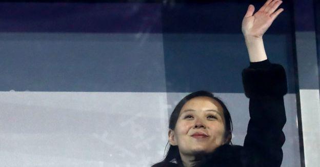 Kim Jong-un acaparó todas las miradas en PyeongChang.